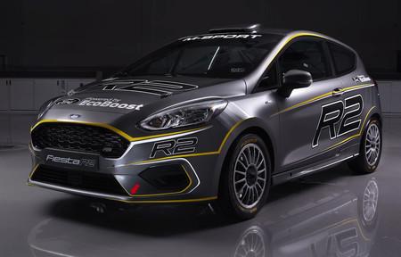 El Ford Fiesta R2 2019 de M-Sport se deja ver: motor 1.0 Ecoboost y 200 CV para este WRC Junior