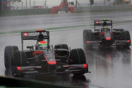 GP de Corea del Sur de Fórmula 1: Hispania consigue tener a sus dos coches en la línea de meta