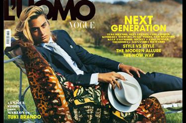 El nieto de Marlon Brando será la imagen de Versace