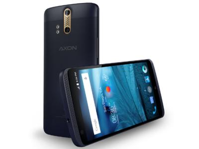 ZTE presenta el Axon, un móvil para audiófilos con sonido Hi-Fi y cámara dual