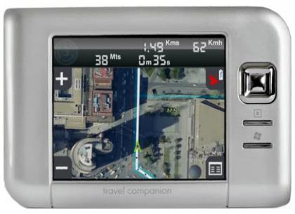 Blom, navegación con imagen real en tres dimensiones