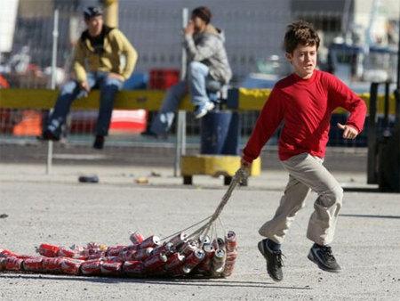 """Fiesta de Reyes: el """"arrastre"""" en Algeciras"""