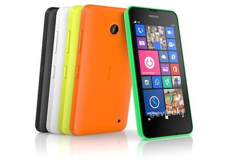 Nueva imagen del Nokia Lumia 630, supuestamente el primero con Windows Phone 8.1