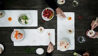 JOMON de COOKPLAY, una vajilla española para sabores orientales en Maison et Objet París 2014