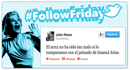 #FollowFriday de Poprosa: el primero del año a los más activos en Nochevieja, como debe de ser