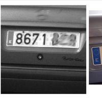 Una conductora esquivó 8.000 euros de multas tras ser cazada 80 veces por radares utilizando una matrícula falsa