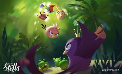 Angry Birds Stella, se confirma otro nuevo juego de los pájaros  furiosos
