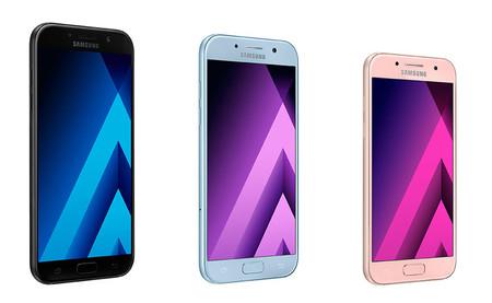 Galaxy A3, A5 y A7 2017: la gama media de Samsung se renueva, esto es todo lo que ha cambiado