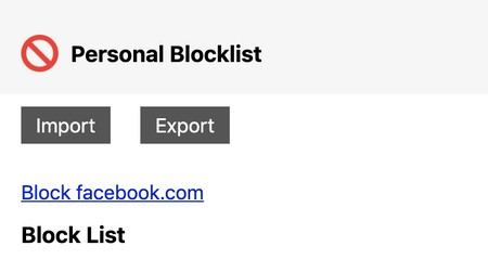 BlockList