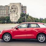 Curiosas imágenes del Audi Q2...en Cuba