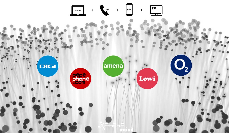 new product 1fc13 30f16 Digi arrasa entre los combinados de fibra + móvil por menos de 50 euros