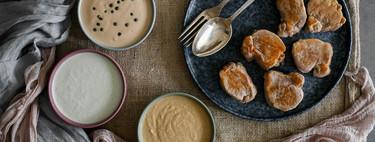 Salsa de foie, de pimienta verde y de queso azul o cómo convertir tu carne en la mejor receta de Navidad, tres recetas con vídeo incluido