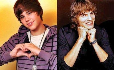 Vuestro sueño se cumple: Justin Bieber y Ashton Kutcher serán pareja en una película
