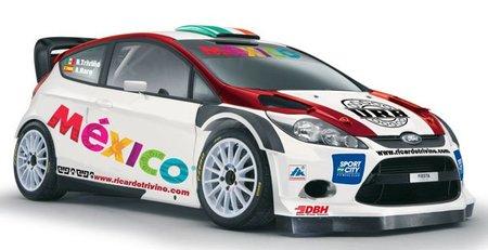 Ricardo Triviño disputará el Rally de México con Ford