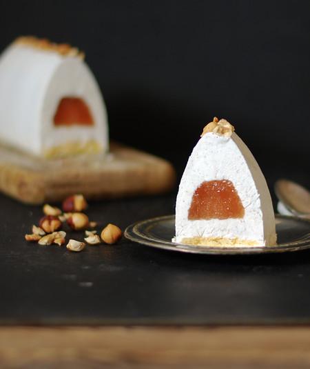 Pear Yogurt Semifreddo Recipe Receta Semifrio Yogur Pera Dulces Bocados 1