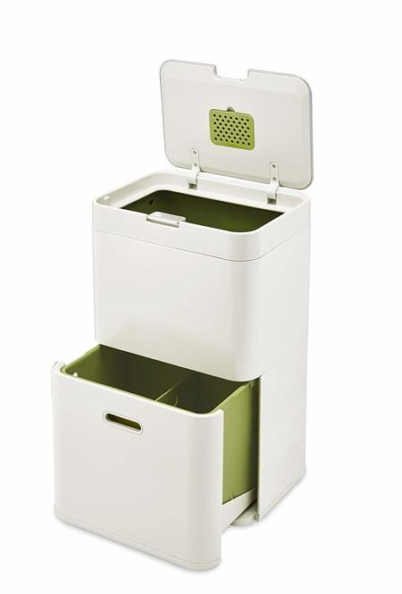 Los cubos de reciclaje más prácticos