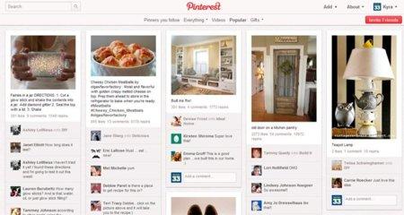 Pinterest actualiza sus condiciones de uso del servicio