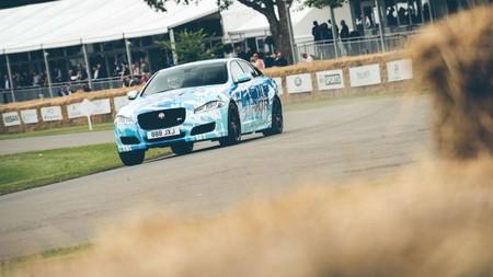 Jaguar muestra en el Goodwood Festival of Speed un XJR que pasa de 550 a 575 CV