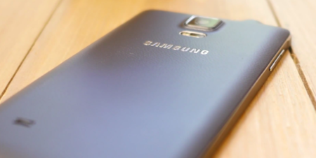 Samsung Galaxy Note 4 análisis trasera