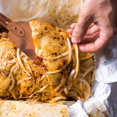 Tacos de canasta de frijol y papa: Receta fácil