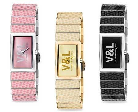 La nueva colección de relojes y joyería de Victorio & Lucchino