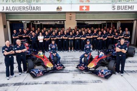 Los pilotos de Toro Rosso solo están confirmados para el comienzo de la temporada