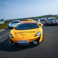 ¿Un McLaren 540C 'Safety Car'? Pues sí, en el British GT Championship