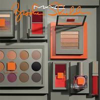 Primeras imágenes de la colección de Brooke Shields para MAC y su preciosa paleta de sombras