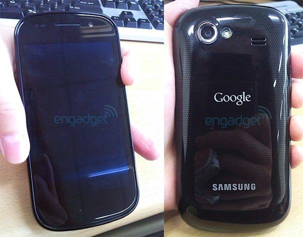 Samsung Nexus S tiene su primera sesión de fotos