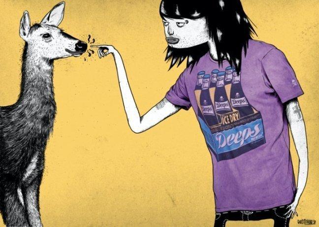 Nuevas camisetas de Pull and Bear para el verano I