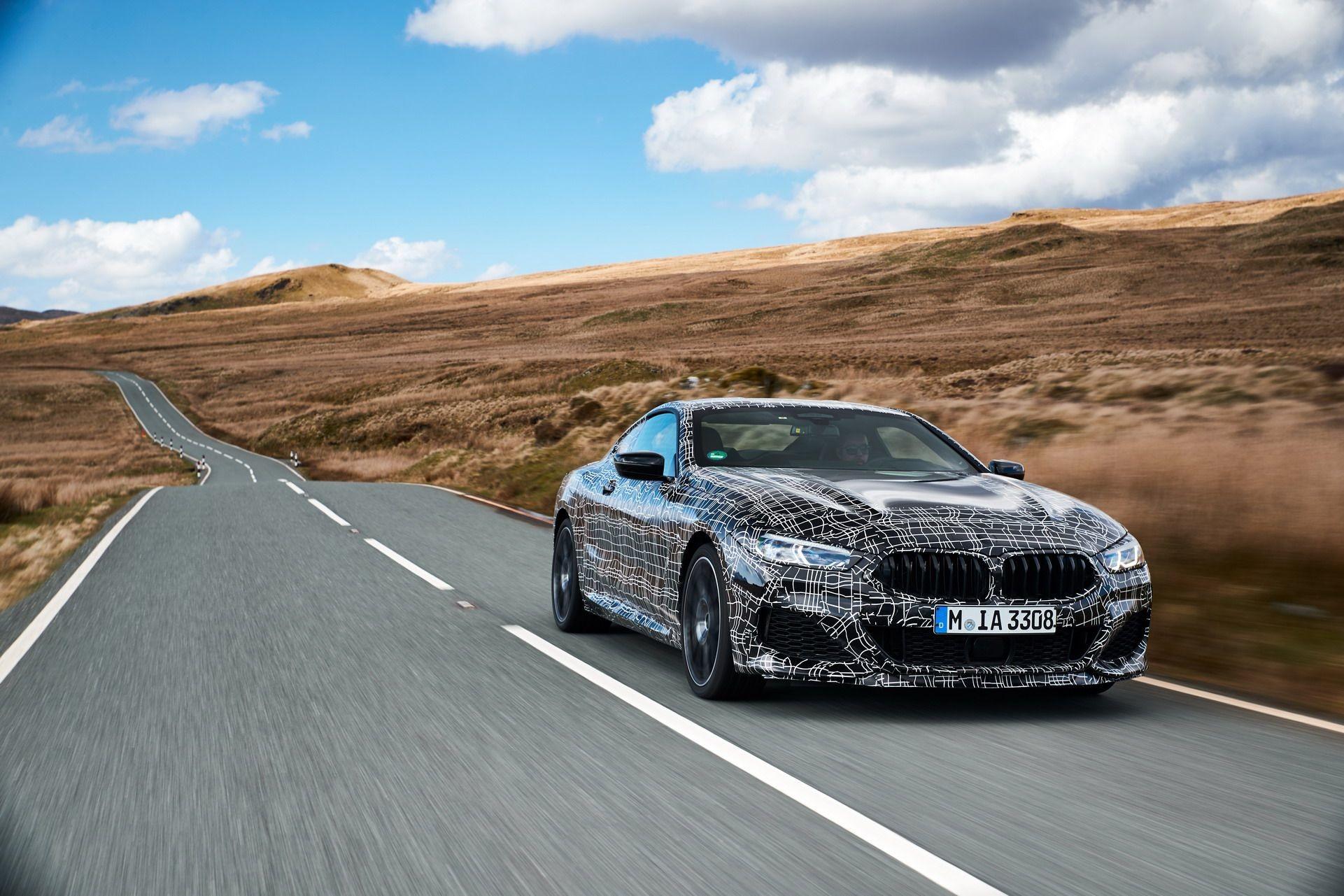 Foto de BMW Serie 8 (fotos con camuflaje) (1/38)