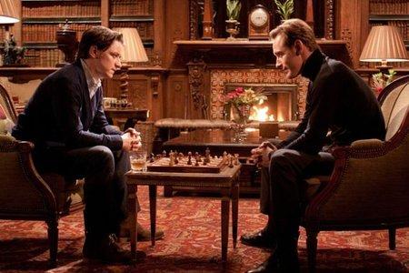 James McAvoy y Michael Fassbender en X-Men: Primera Generación
