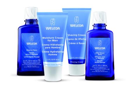 La línea para hombre de Weleda, para las necesidades de la piel masculina