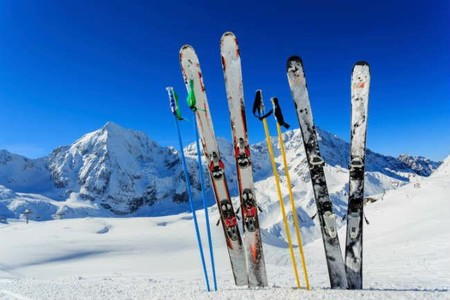 Entrenamiento Esquiar