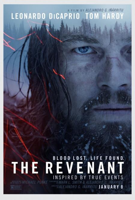 El Renacido The Revenant Poster Dicaprio