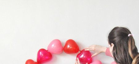 Decorando con globos en San Valentín: tres ideas