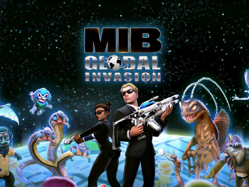 Los 'Men in Black' además poseerán un videojuego de realidad aumentada: 'Men in Black: Global Invasion'