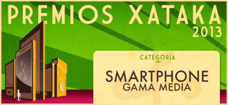 Vota por el mejor smartphone de gama media en los Premios Xataka 2013