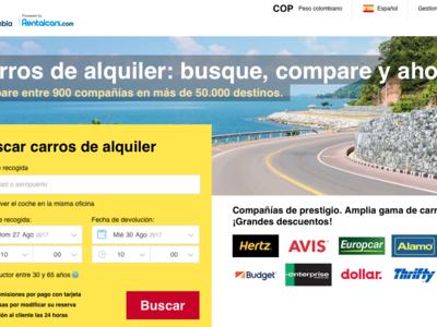 Viva Colombia lanza un nuevo servicio de alquiler de carros a través de internet