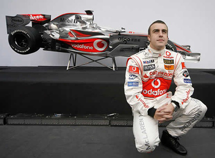 Vodafone regalará 1000 minutos si gana Alonso