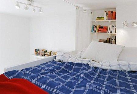 Dormitorio de la casa de 17 m