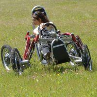 Swincar E-Spider, una araña con ruedas que parece muy divertida