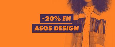 En ASOS tienes 20% de descuento en su línea de diseño exclusivo