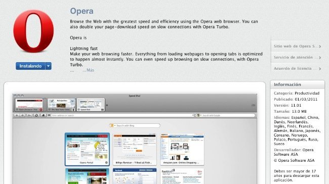 opera mac app store apple