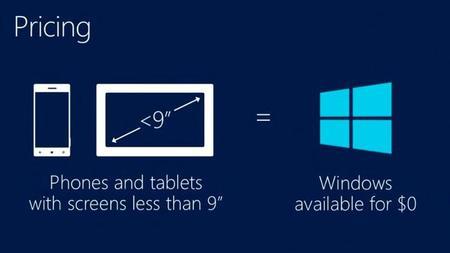 Según Microsoft, las licencias gratuitas de Windows han atraído al sistema a 50 nuevos fabricantes