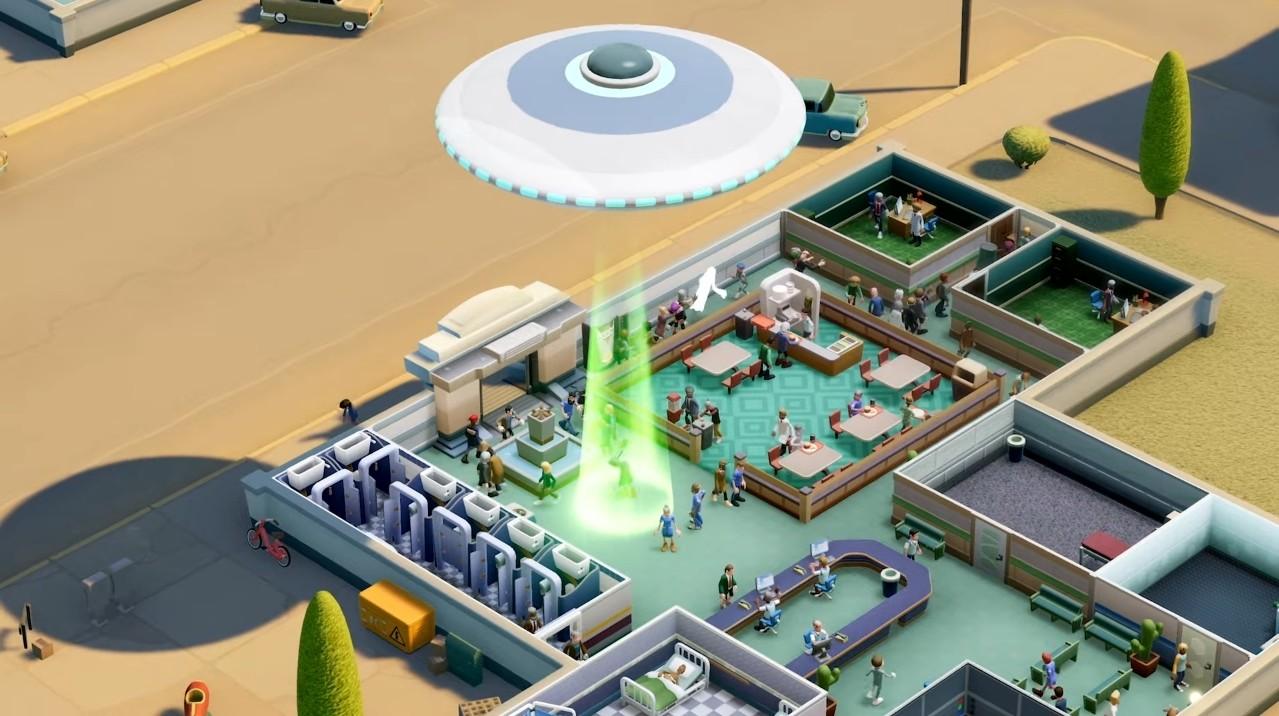 Los alienígenas invadirán Two Point Hospital con Encuentros en la Tercera Base, su nuevo DLC que llegará la...
