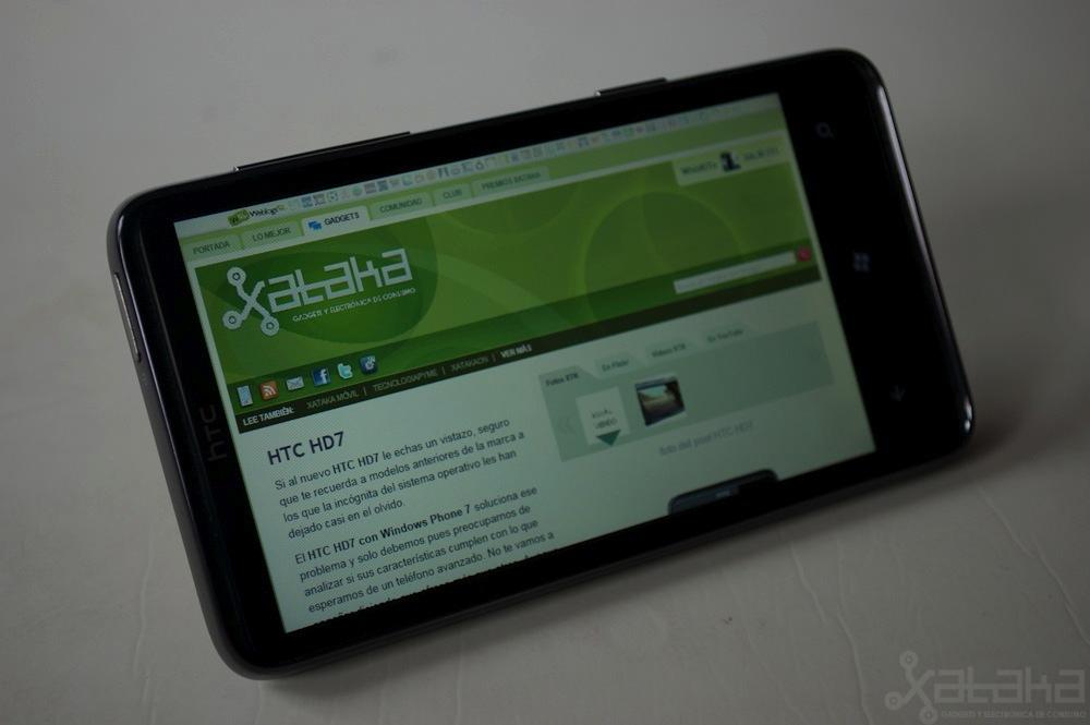 Foto de HTC HD7, análisis (13/21)
