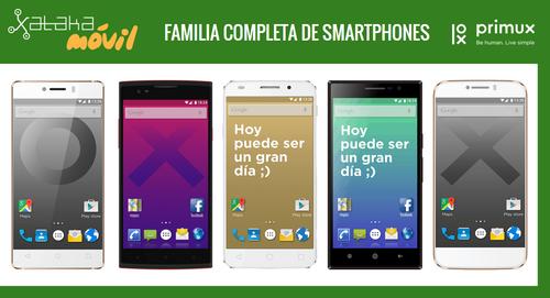 Así queda el catálogo completo de smartphones Primux tras la llegada de los nuevos Evo y Omega K