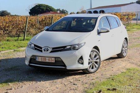 Toyota Auris Hybrid, presentación y prueba en Cascais