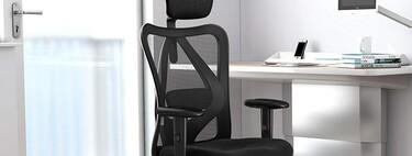 Esta ergonómica silla para trabajo o estudio es una de las más vendidas en Amazon y está rebajada a 169,99 euros